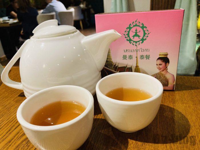 タイ料理お茶