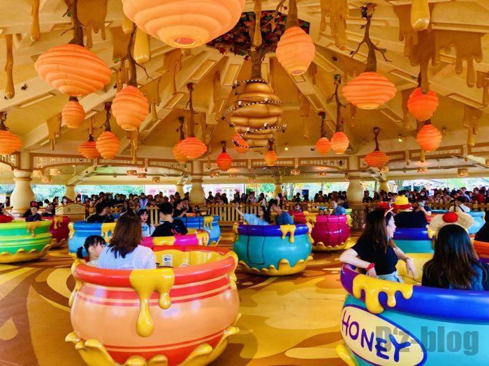 上海ディズニーランドぷーさんカップ