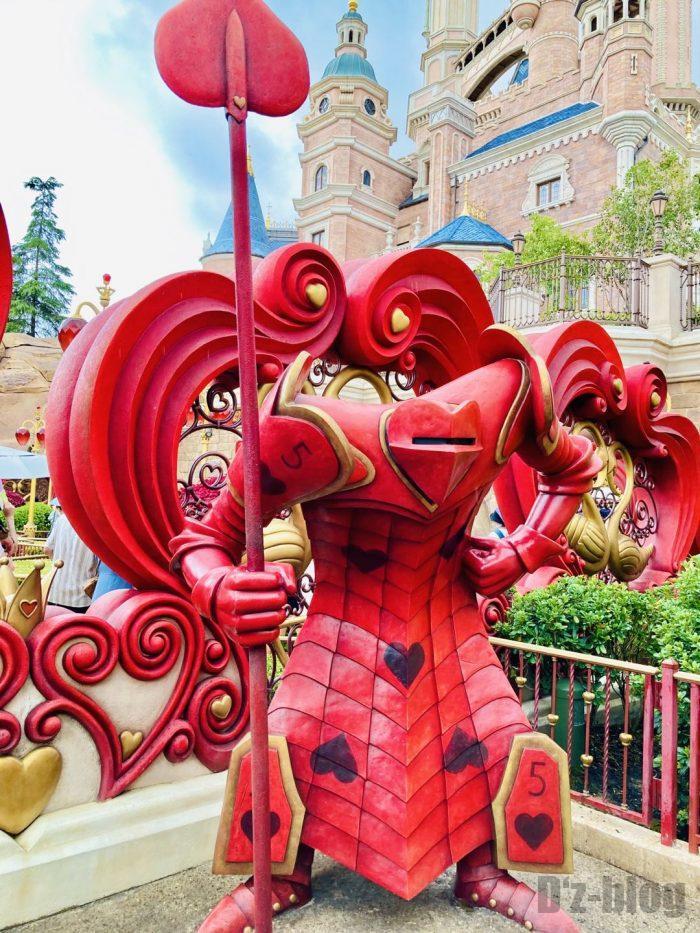 上海ディズニーランドハートトランプ