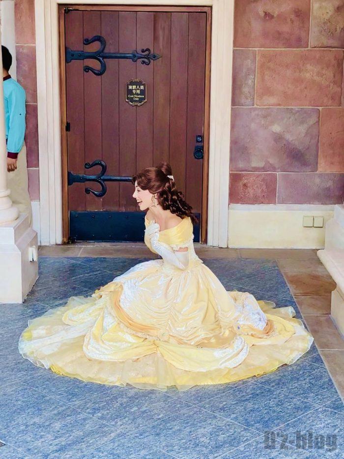 上海ディズニーランドシンデレラ城オーロラ姫