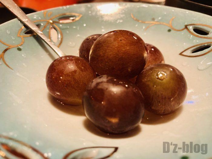 上海居酒屋花ちゃん サービス葡萄