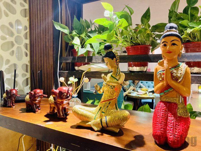 タイ料理人形の置物