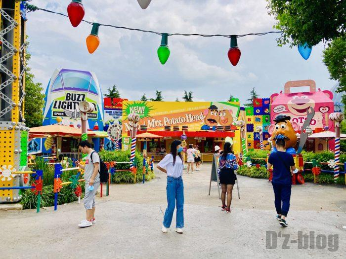 上海ディズニーランドトイストーリーエリアPOTEATO