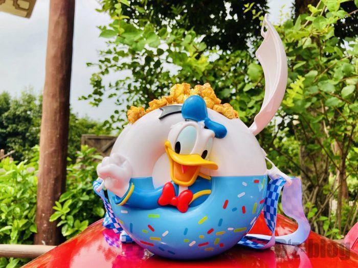 上海ディズニーランドポップコーンドナルドBOX