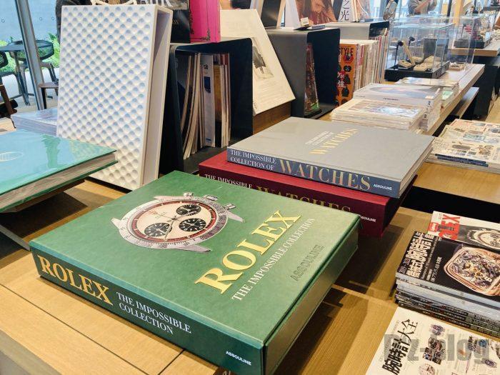 杭州TSUTAYA書店撮影とファッション雑誌のフロアロレックス