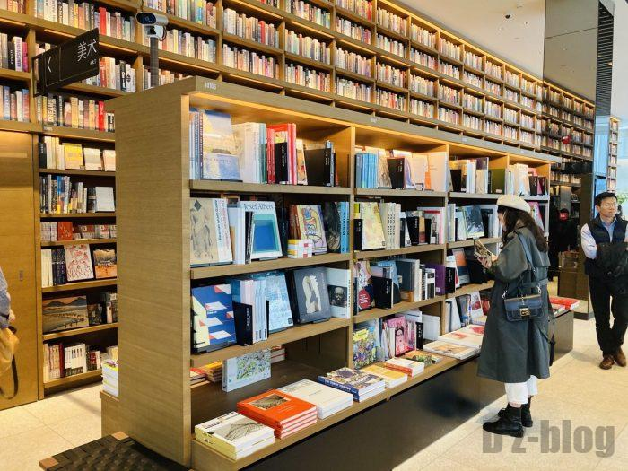 杭州TSUTAYA書店芸術フロア