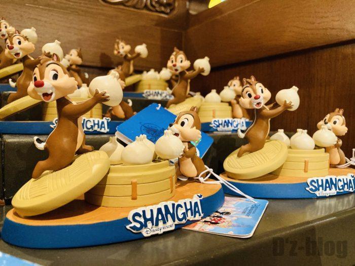 上海ディズニーランド土産屋上海限定チップデール置物