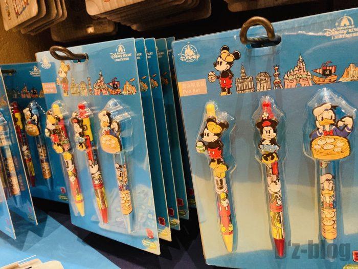上海ディズニーランド土産屋上海限定ボールペンセット