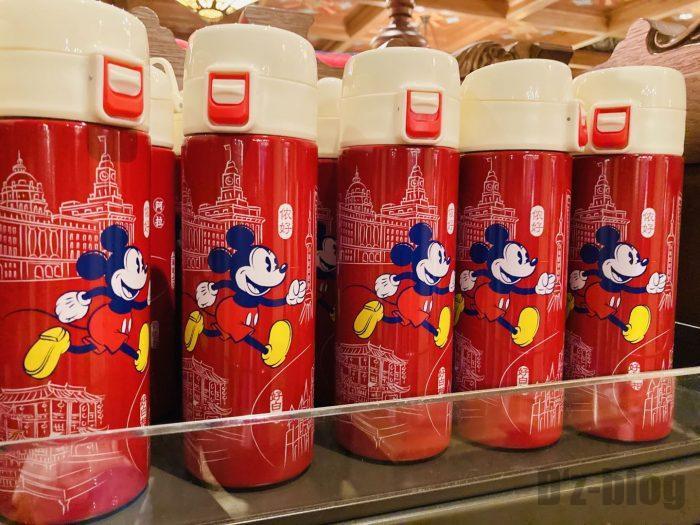 上海ディズニーランド土産屋上海限定ミッキー水筒
