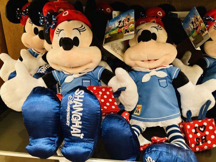 上海ディズニーランド土産屋上海限定ミニー人形