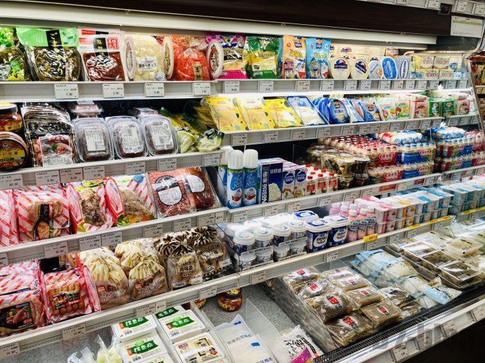 上海新快 冷蔵コーナー