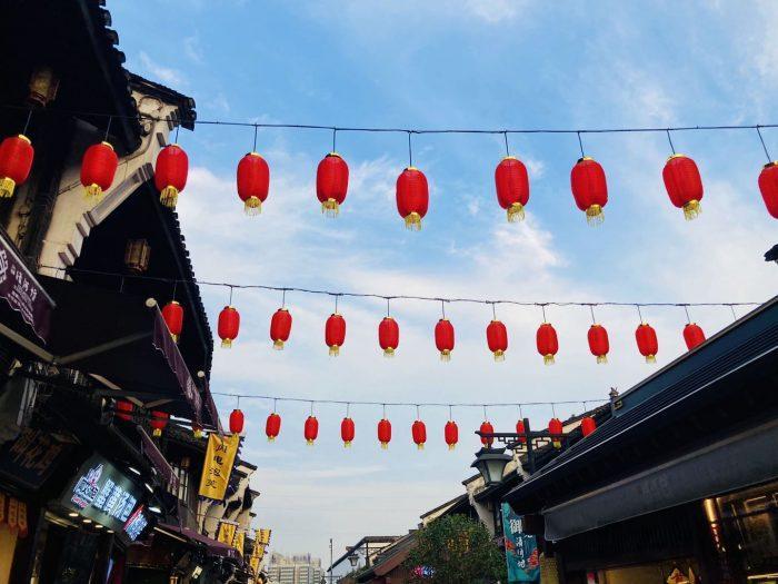 杭州清河坊装飾提灯①