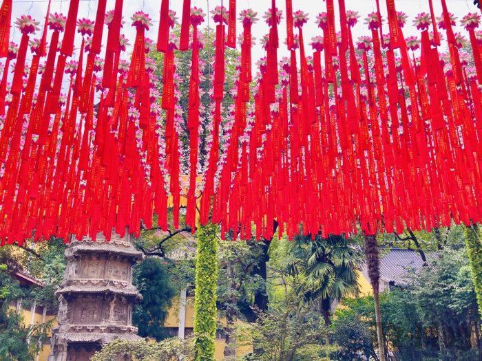 杭州霊隠寺飾り