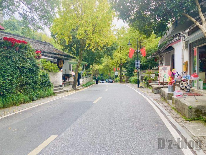 杭州龍井村道中②