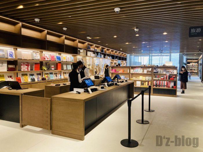 杭州TSUTAYA書店地下一階フロアレジ