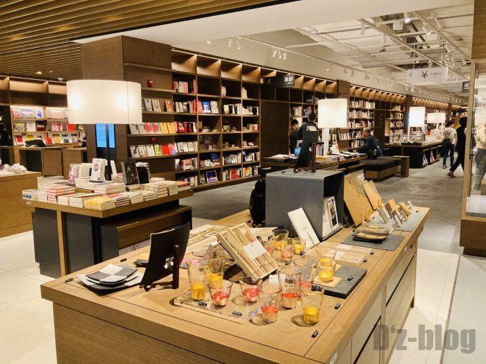 杭州TSUTAYA書店地下一階フロア一部