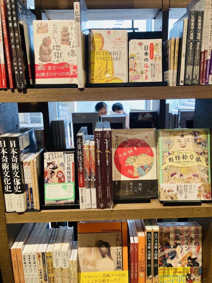 杭州TSUTAYA書店地下一階フロア日本の歴史本等
