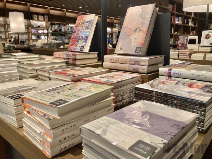 杭州TSUTAYA書店地下一階フロア日本書物