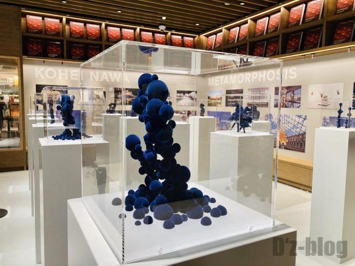 杭州TSUTAYA書店地下一階フロア設計作品展示