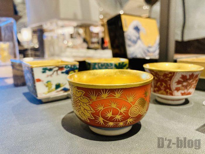 杭州TSUTAYA書店地下一階フロア陶器湯飲み等