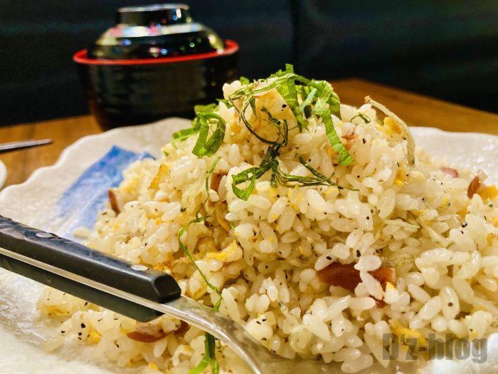 上海北海道料理ふるさと梅チャーハン