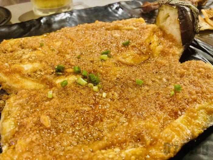 上海大成活海鮮烧烤 ナスのニンニク焼き