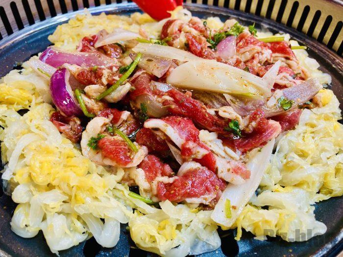 上海杨记齐齐哈尔烤肉.牛肉酸菜