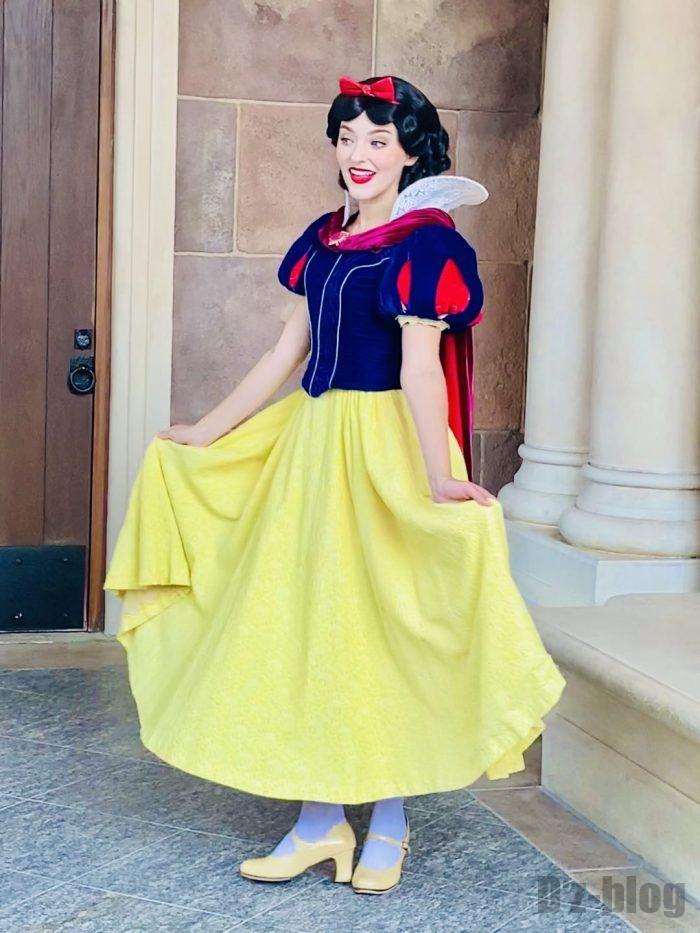 上海ディズニーランドシンデレラ城白雪姫