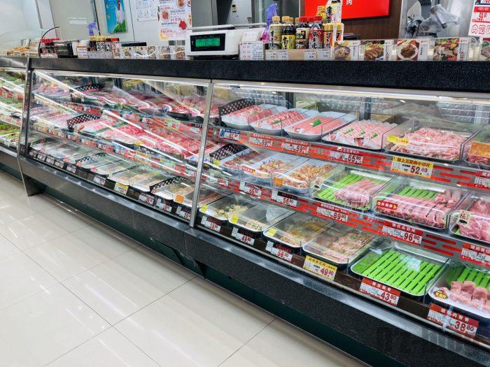 上海新快 精肉コーナー