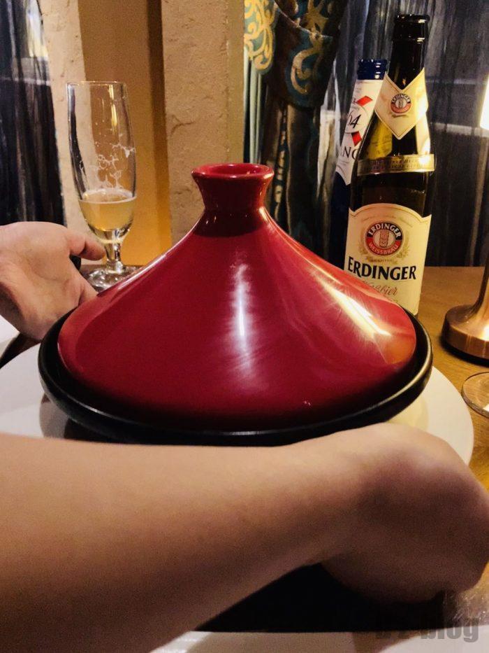 上海Tajine Moroccan经典网红純牛肉温泉蛋蓋つき