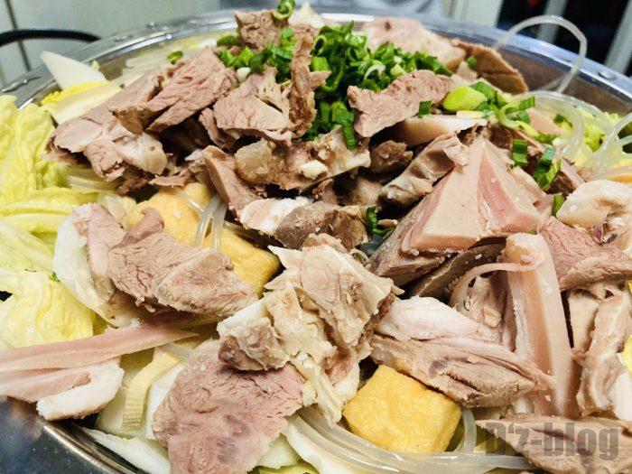 上海蘇州羊肉館羊鍋アップ