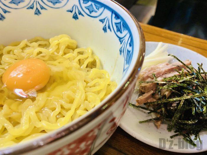 上海北海道料理ふるさと釜玉らーめん