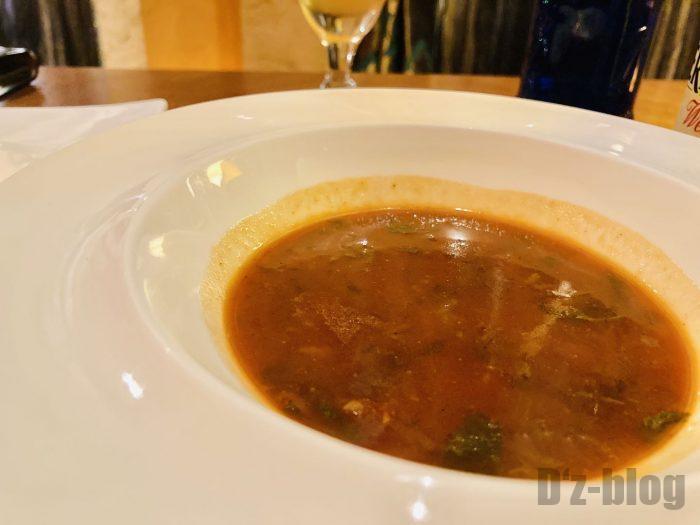 上海Tajine Moroccan鷹嘴豆牛肉汤