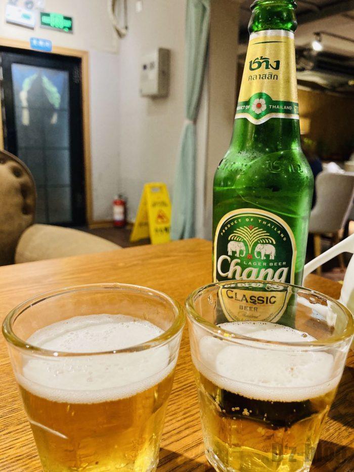 タイ料理CHNAGビール