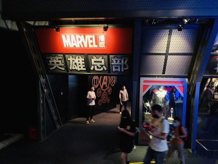 上海ディズニーランドMarble英雄総部