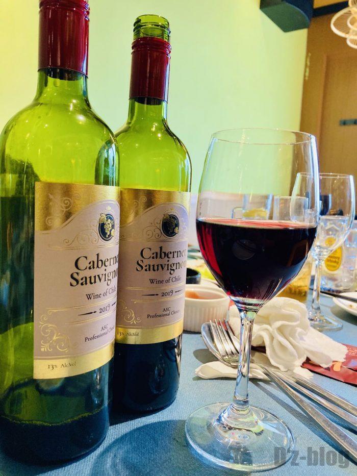 上海ビッテロ赤ワイン