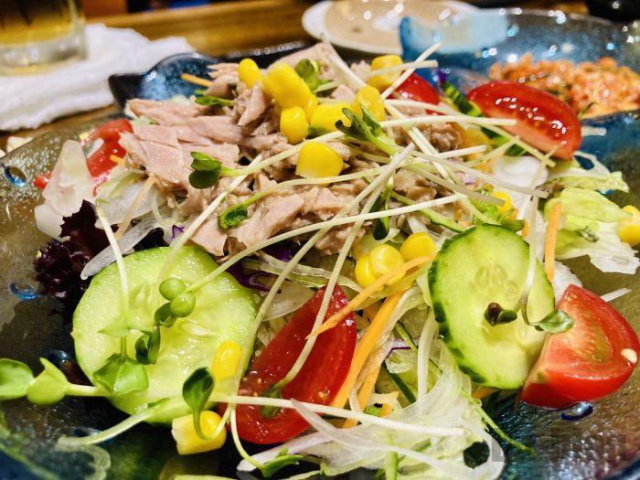 上海勝ツナサラダ