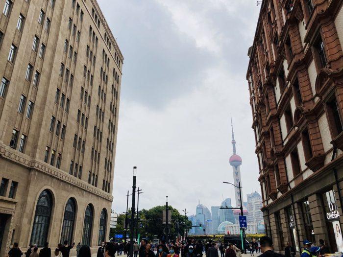 上海南京東路歩行者天国㉘