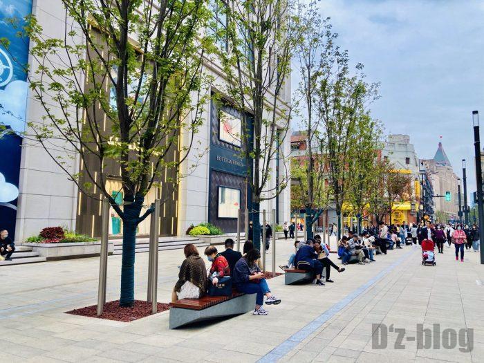 上海南京東路歩行者天国⑨