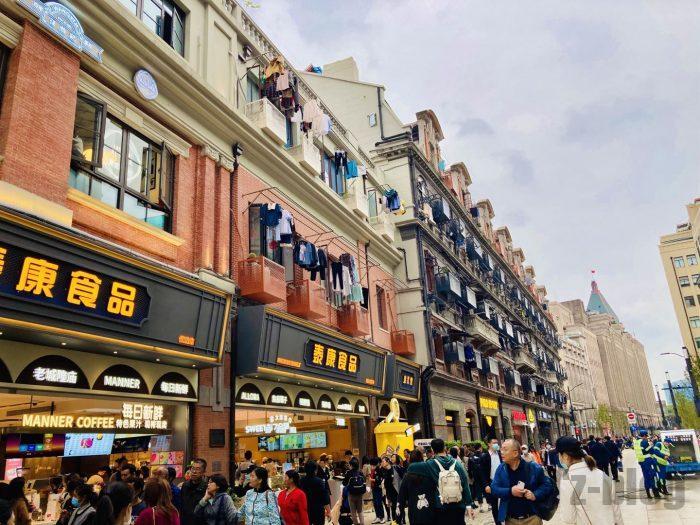 上海南京東路歩行者天国⑩