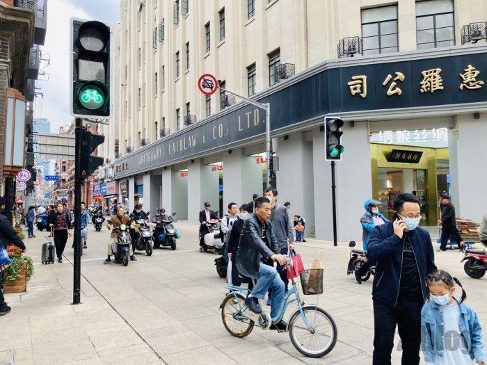 上海南京東路歩行者天国⑭