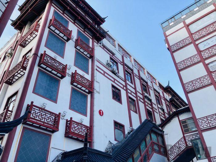 上海天山茶城ビル全体