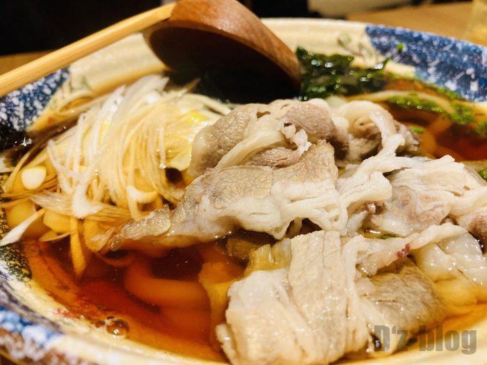 上海彩羽肉うどん