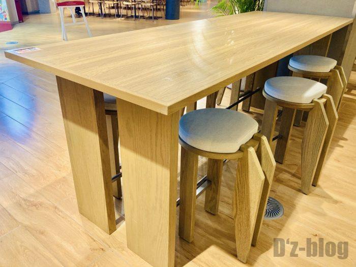 上海森ビル地下二階テーブル席③