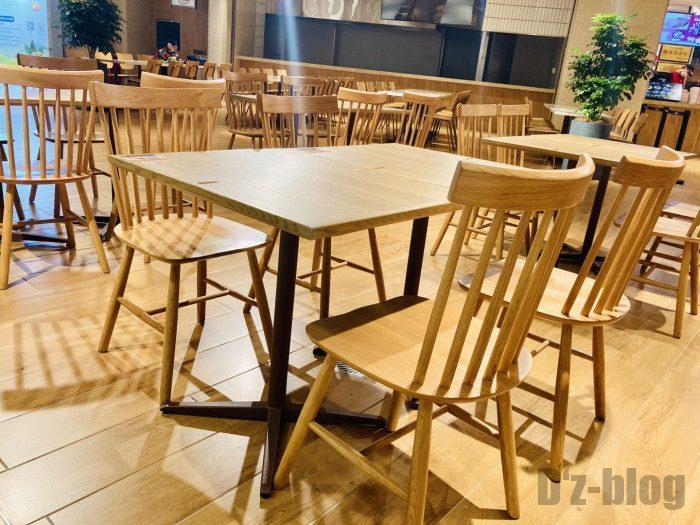 上海森ビル地下二階テーブル席⑤