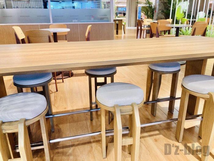 上海森ビル地下二階テーブル席⑥