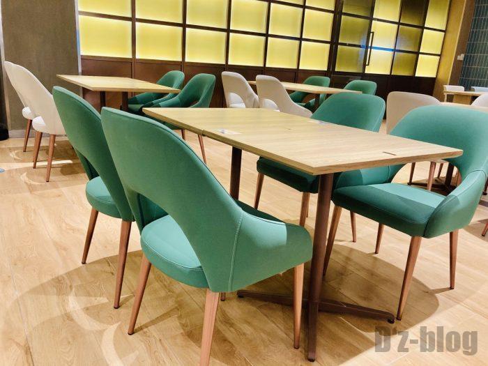上海森ビル地下二階テーブル席⑦