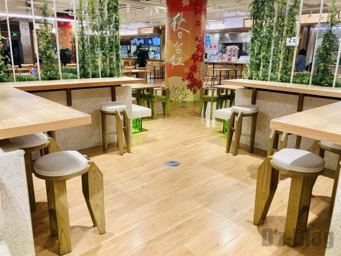 上海森ビル地下二階テーブル席⑪