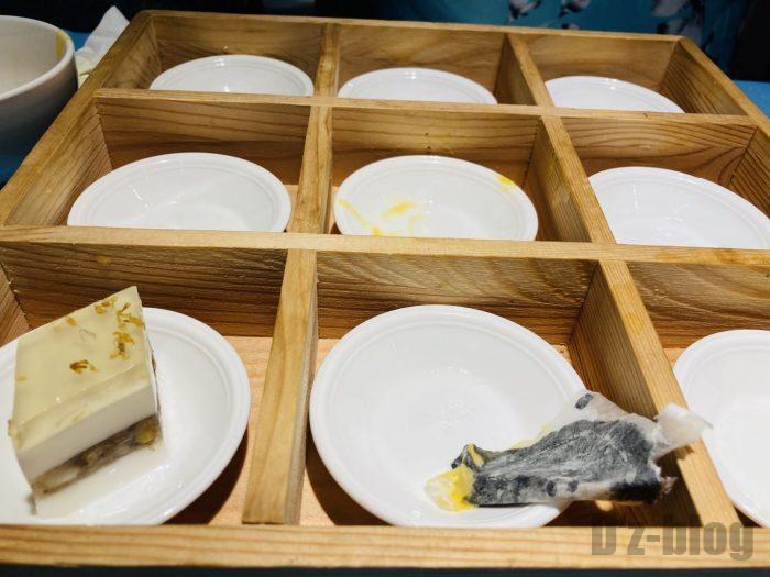上海港島金沙店食べ終わり