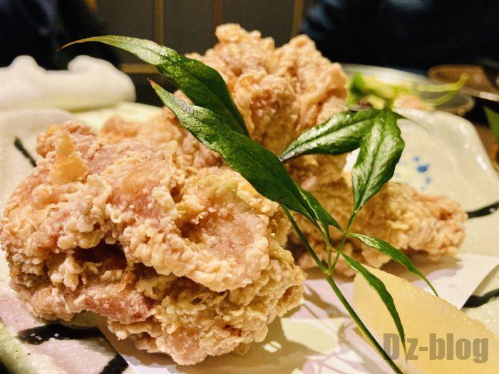 上海火鳥鶏の唐揚げ